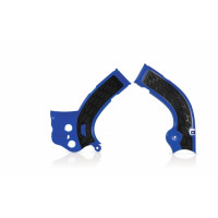 Frame protector Acerbis 0017778 X-GRIP YAMAHA Blue