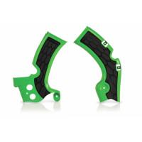 Frame protector Acerbis 0017814 X-GRIP KAWASAKI Green
