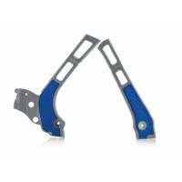 Frame protector Acerbis 0021669 X-GRIP YAMAHA Gray Blue