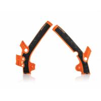 Frame protector Acerbis 0021869 X-GRIP KTM Orange