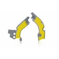 Frame protector Acerbis 0022347 X-GRIP SUZUKI Gray Yellow