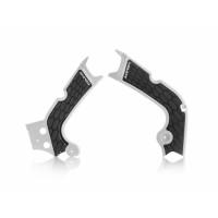 Frame protector Acerbis 0022386 X-GRIP HONDA White