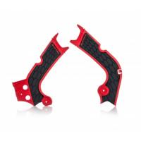 Frame protector Acerbis 0022386 X-GRIP HONDA Red