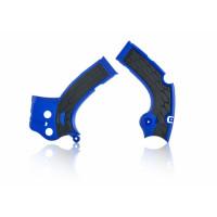 Frame protector Acerbis 0022444 X-GRIP YAMAHA Blue