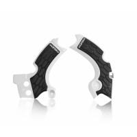 Frame protector Acerbis 0022574 X-GRIP KAWASAKI White Black
