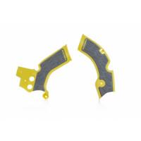 Frame protector Acerbis 0022879 X-GRIP SUZUKI Yellow Gray