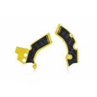 Frame protector Acerbis 0022879 X-GRIP SUZUKI Yellow Black