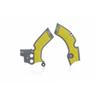 Frame protector Acerbis 0022879 X-GRIP SUZUKI Gray Yellow