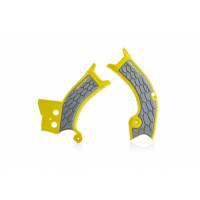 Sliding Frame Acerbis 0023070 X-GRIP SUZUKI Yellow Gray