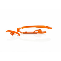 Chain guard Acerbis 0021832 KTM - HUSQVARNA Orange