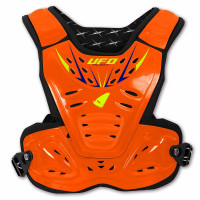 Ufo Plast Reactor 2 Evolution Child Chest protection Fluo Orange