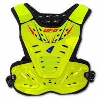 Ufo Plast Reactor 2 Evolution Child Chest protection Fluo Yellow