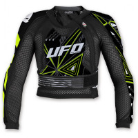 Ufo Plast Ultralight 2.0 Black child chest protector