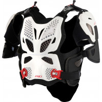 Alpinestars A-10 Full chest protector white balck red