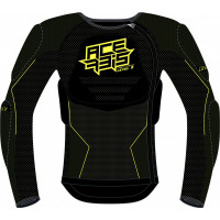 Acerbis X-FIT FUTURE LEVEL 2 KID chest protector black fluo yellow