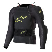 Alpinestars Complete Child Protective Collar Bionic Plus Youth Black Yellow Fluo