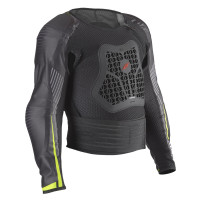 Zandonà NETCUBE JACKET KID X8 Body Armor Black