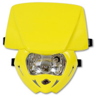Headlight monochrome UFO Yellow Panther