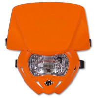 Headlight monochrome UFO Orange Panther