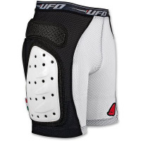 Shorts with side shields rigid intimate UFO Black