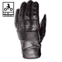 Carburo VEGA CE certified leather summer gloves Black