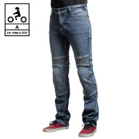 Befast Iron Tech CE certified jeans with aramidic fiber Blue