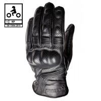 Carburo KOLEDO CE certified summer leather gloves Black