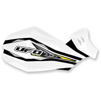 Ufo couple replacement plastic for Claw handguards White