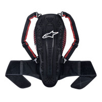 Alpinestars Nucleon KR-2 back protector Black Smoke Red