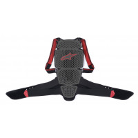 Alpinestars NUCLEON KR-CELL back protector Grey Black Red