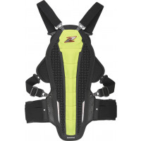 Zandonà HYBRID ARMOUR X6 Full Back and Chest Protector Yellow