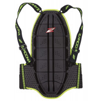 Zandonà SHIELD EVO X6 HIGH VISIBILITY back protector Black