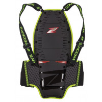 Zandonà SPINE EVC X8 HIGH VISIBILITY back protector level 2 Black