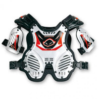 Ufo Plast Shockwave 4-8 years chest protection White