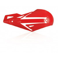 Acerbis pair of replacement plastics for Multiplo E handguards red