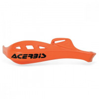 Acerbis pair replacement plastics for Rally Profile handguards orange
