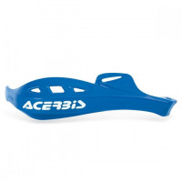 Acerbis pair replacement plastics for Rally Profile handguards blue