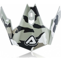 Replacement front cover Acerbis JET ARIA Camo brown