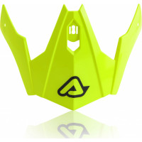 Replacement Acerbis visor JET ARIA Yellow