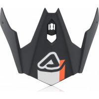 Replacement Acerbis visor JET ARIA Gray White