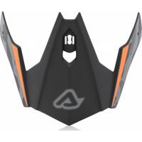 Replacement front cover Acerbis JET ARIA Black Orange