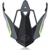 Replacement Acerbis REACTIVE GRAFFIX peak GRAY Black