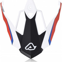 Replacement Acerbis REACTIVE GRAFFIX peak Red White