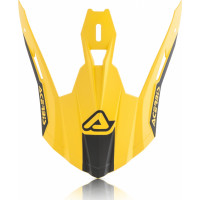 Replacement front cover Acerbis STEEL CARBON X-PRO VTR Black Yel
