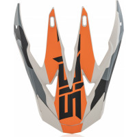 Replacement front cover Acerbis X-RACER VTR Orange Black
