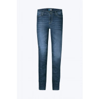 PMJ Rider woman motorcycle Jeans Blue