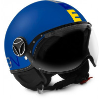 Momo Design Fighter Baby kid jet helmet matt Blue