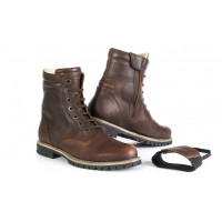 Stylmartin shoes cafe racer Ace brown