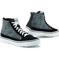 TCX STREET 3 LADY AIR Moto Shoes Black Grey