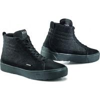 TCX STREET 3 AIR Moto Shoes Black